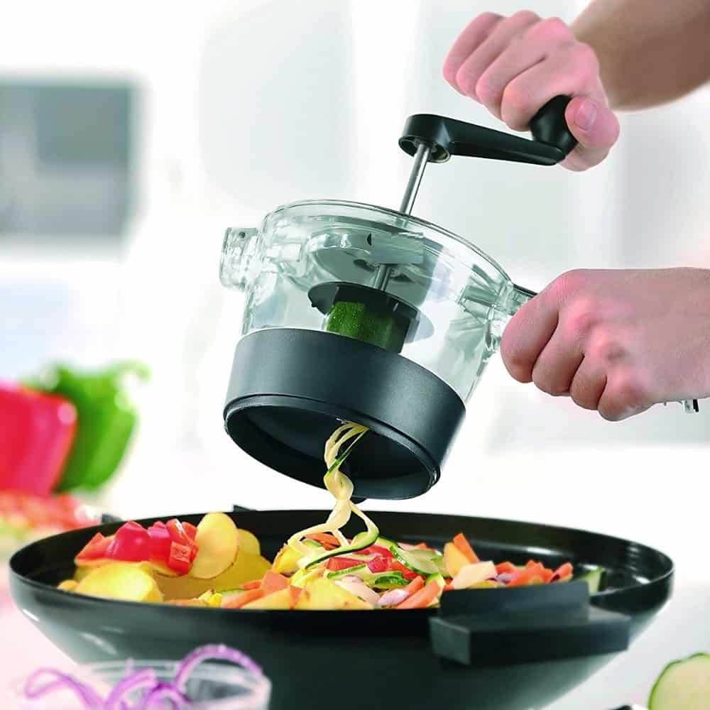 Vegetable Noodle Spiralizer Maker Cutter And Slicer