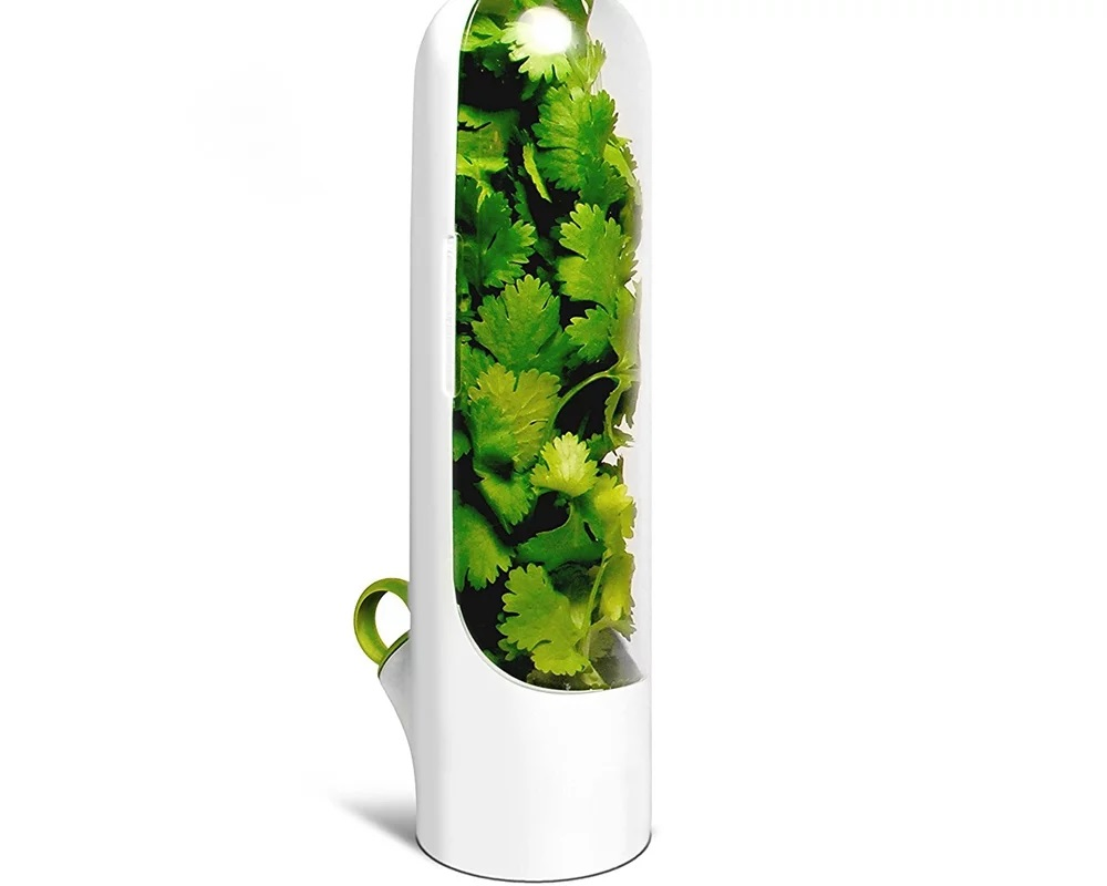 Herb Saver and Keeper Storage Container