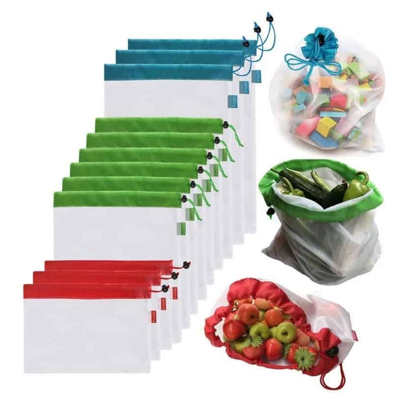 Reusable Produce Bags Eco-Friendly (3 pieces)