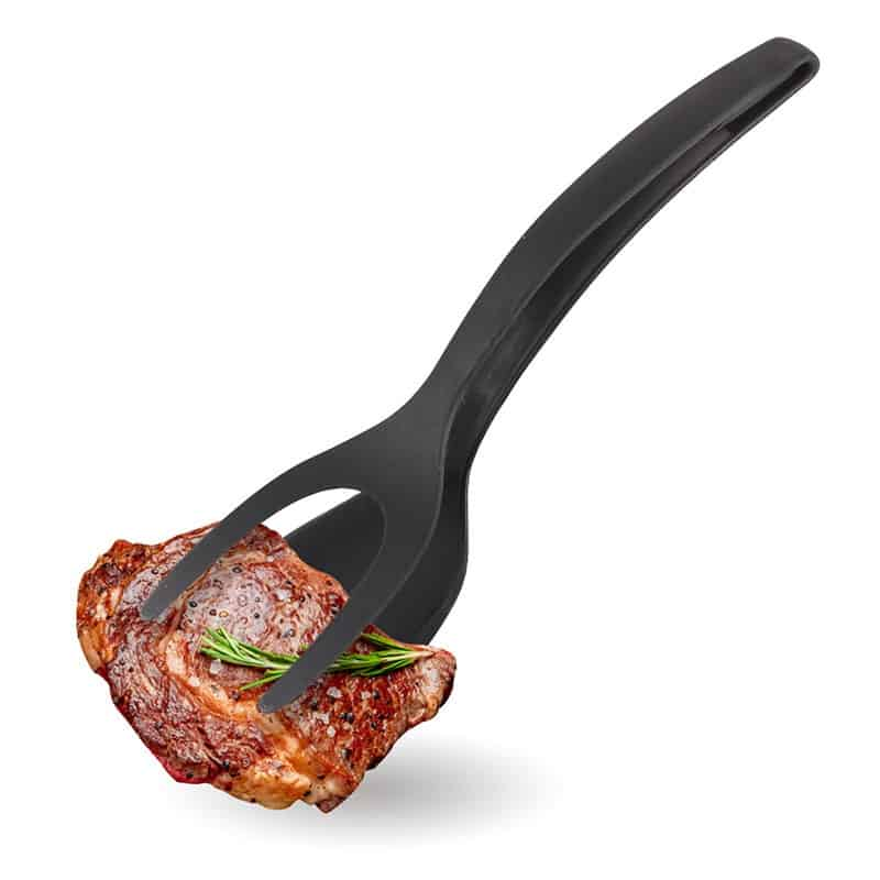 Make Kitchen Life Easier with Cooking Tongs Non-stick Food Turner